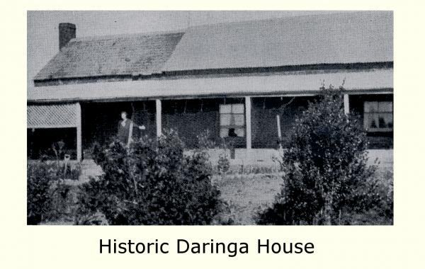 Historic Daringa House