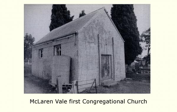 McLaren Vale first Congregational Church