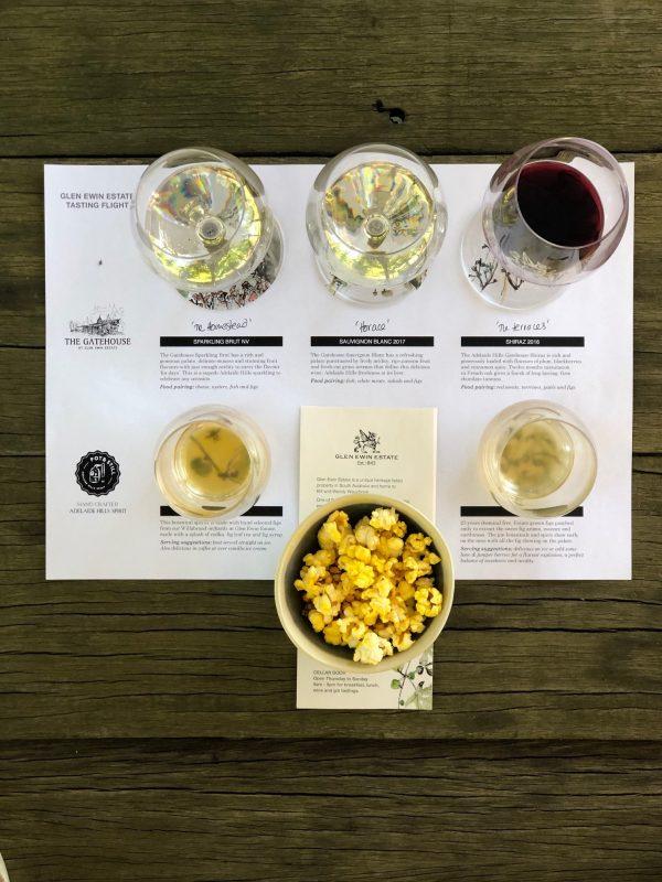 Glen Ewin Estate Wine flyer