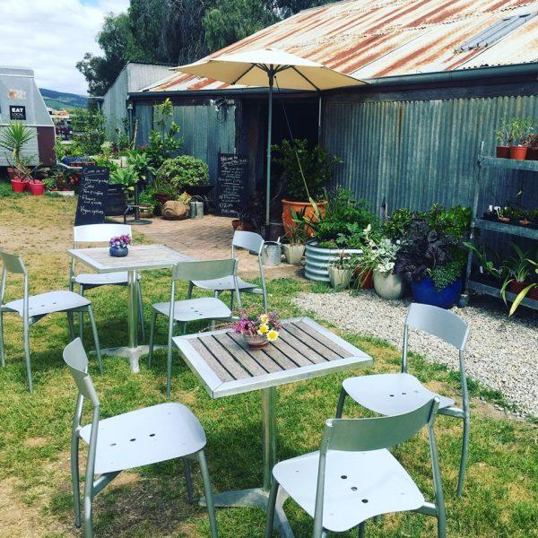 Edible Garden outside