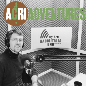 Picture template for AgriAdventures Radio Program Simone Berliat 1