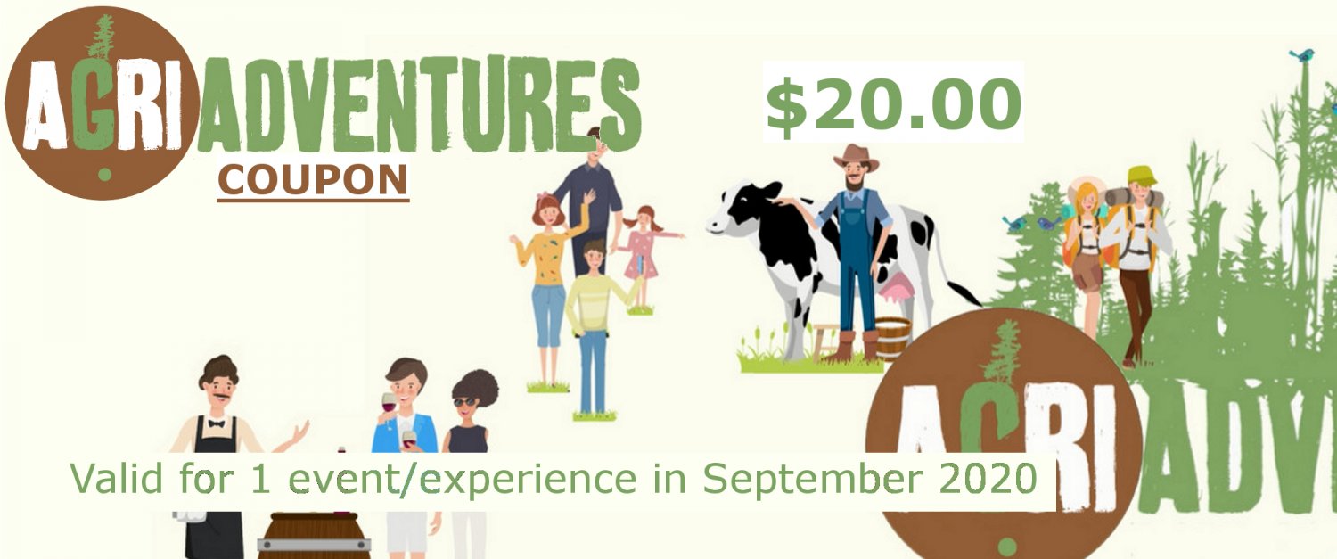 AgriAdventures Coupon