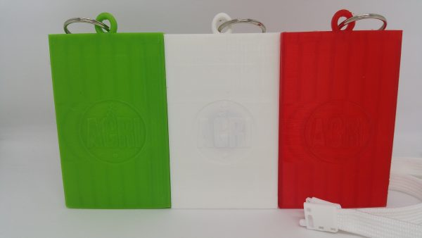 Tricolore Card Holder