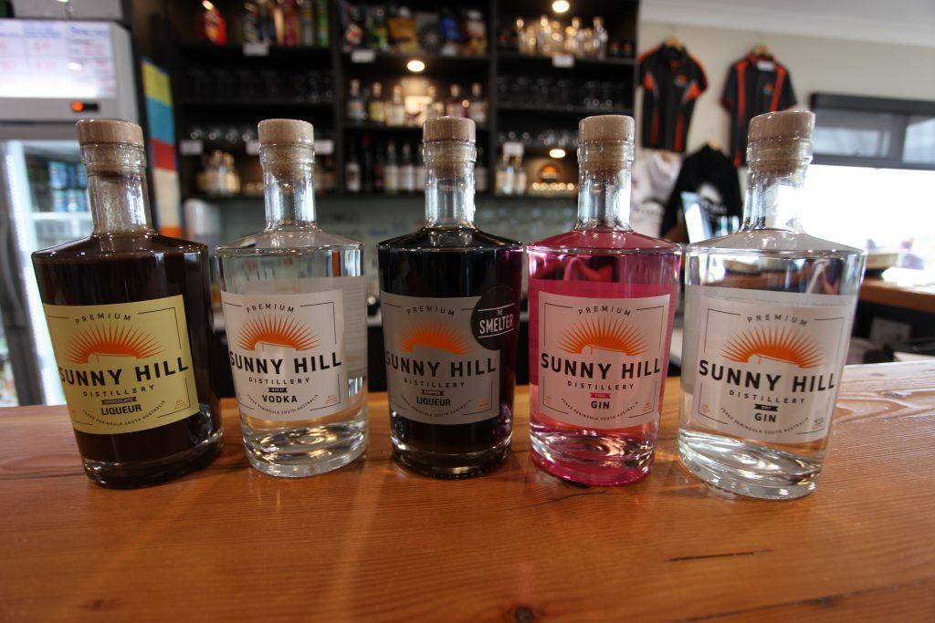 Sunny Hill Distillery Produce