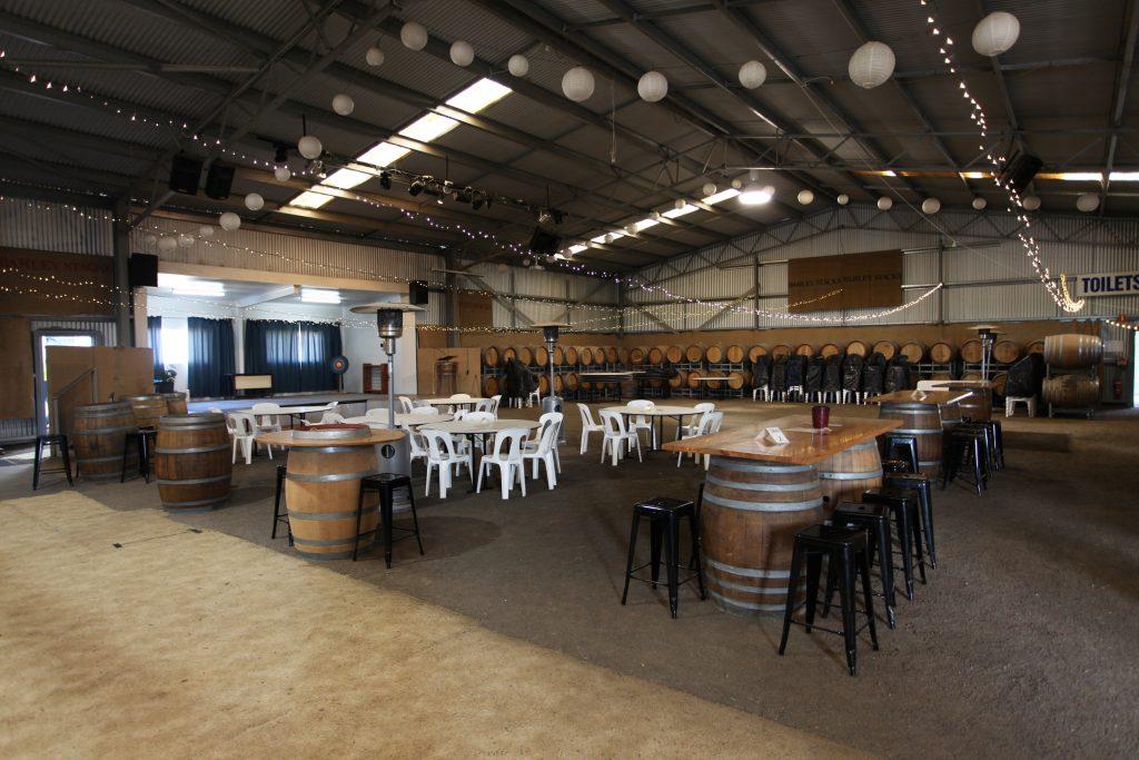 Barley Stack Winery room