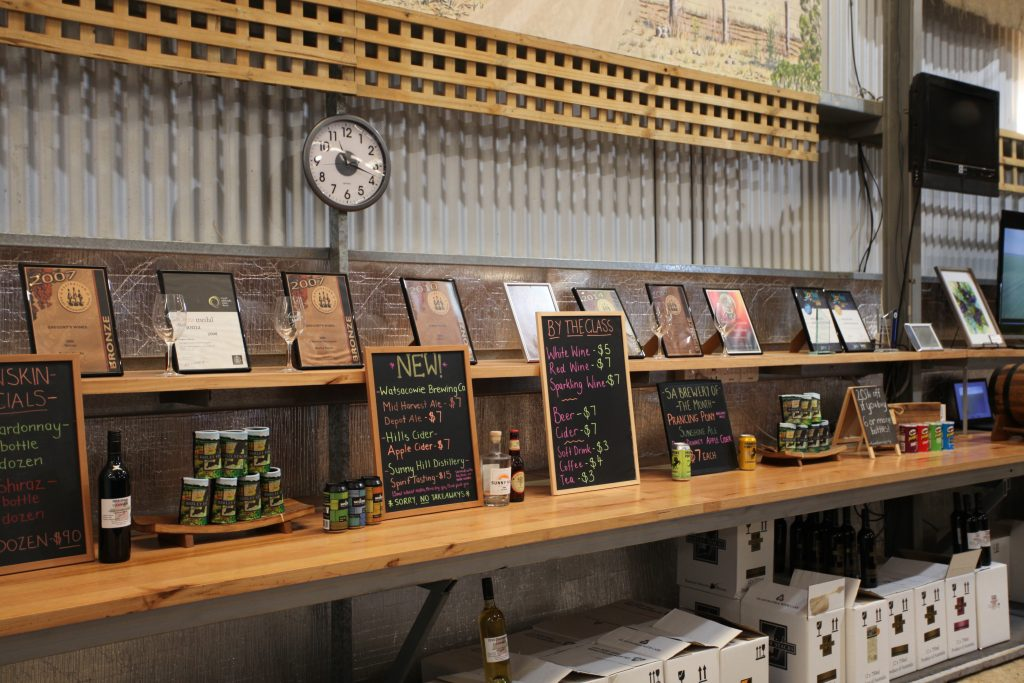Barley Stack Winery Cellardoor