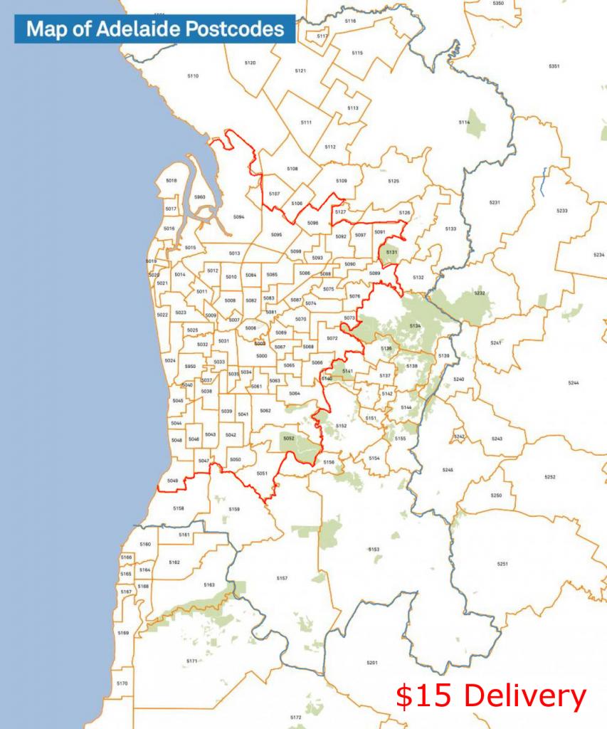 adelaide postcode map 15 1