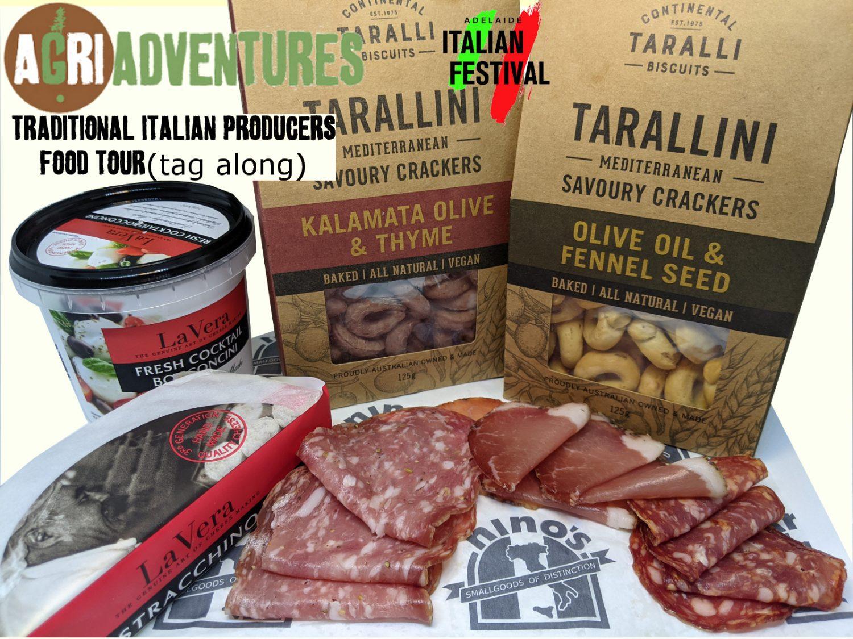 AgriAdventures tagalong food tour AdelaideLogo template